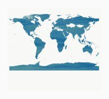 sdd World Map 2C Baby Tee
