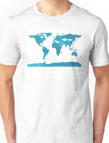 sdd World Map 2C Unisex T-Shirt