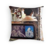 Life is interesting Throw Pillow