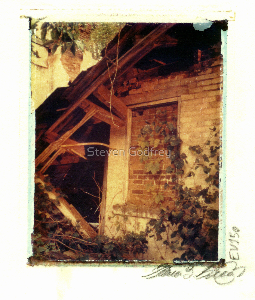 Collapsed Farm House - Milton by Steven Godfrey