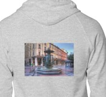 Golden Fountain Square Zipped Hoodie