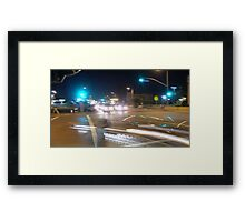 Right on Red Framed Print