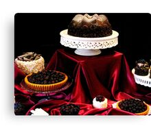 Chocolate Is For Lovers Canvas Print