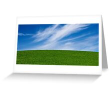Himmel und Erde - Heaven and Earth Greeting Card