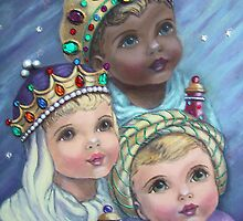 """Awestruck Cherubs"" by Ruth Kauffman"