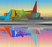 Ethereal reflections [sketchup exploration] by don quackenbush