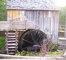 Old Grist Mill by Heather Morris