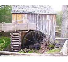 Old Grist Mill Photographic Print