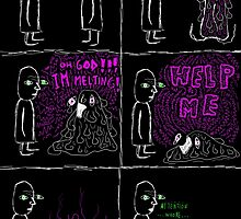 the melting comic by cavia
