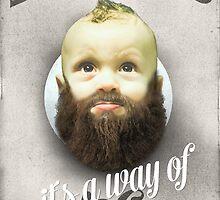 Beard boy by HappyMelvin