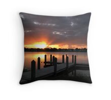 one more morning Throw Pillow