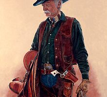 """THE LAST OF THE REAL COWBOYS"" by Denny Karchner"