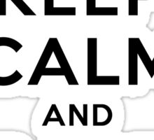 Keep Calm and Rage Quit Sticker