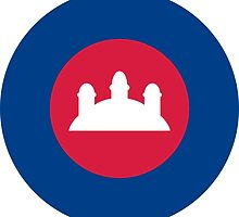 Royal Cambodian Air Force Roundel by abbeyz71