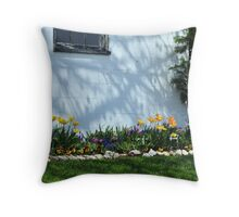 European Cottage Throw Pillow