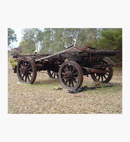 photoj S.A. Adelaide Hills, Wagon Photographic Print