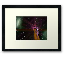 Space Time 067 Framed Print