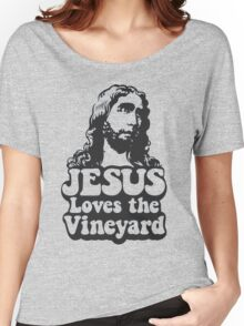 JESUS Loves the Vineyard Women's Relaxed Fit T-Shirt
