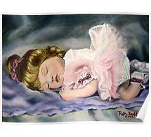 """""""Sleepy Ballerina"""" Poster"""