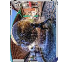 Fountain at the Bus Station iPad Case/Skin