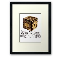 Demon To Some, Angel to Others Framed Print