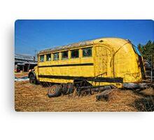 Transportation Cancelled Canvas Print