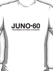 Juno 60 Synth black T-Shirt