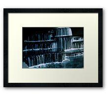 Innacitywaterfall Framed Print
