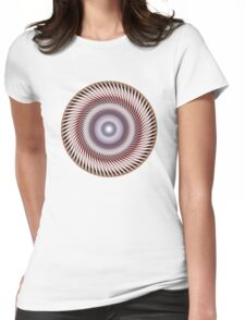 Look in my eyes Womens Fitted T-Shirt