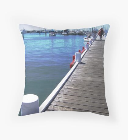 Leading Lines Throw Pillow