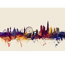 London England Skyline Photographic Print