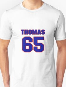 National baseball player Justin Thomas jersey 65 T-Shirt
