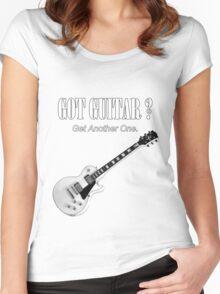 Got Guitar Women's Fitted Scoop T-Shirt