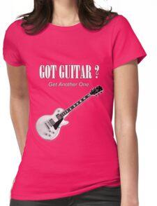 Got Guitar Womens Fitted T-Shirt