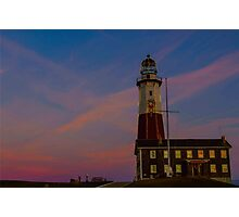 Pink Sky at the Point Photographic Print