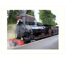 Steam Ranger - Mount Barker Art Print