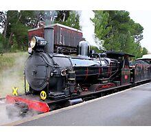 Steam Ranger - Mount Barker Photographic Print