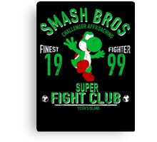 Yoshi Island Fighter Canvas Print