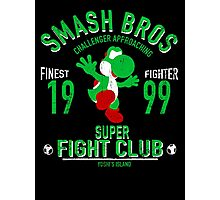 Yoshi Island Fighter Photographic Print