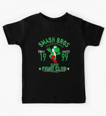 Yoshi Island Fighter Kids Tee