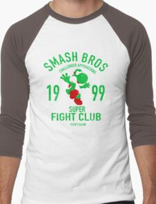 Yoshi Island Fighter Men's Baseball ¾ T-Shirt