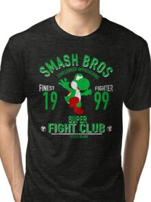 Yoshi Island Fighter Tri-blend T-Shirt