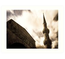Blue Mosque, Turkey Art Print