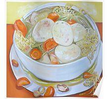 Chicken Soup—Protection, Cure, Caring Poster