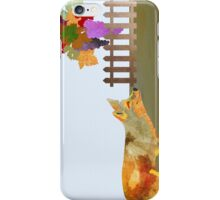 The Fox and the Vineyard iPhone Case/Skin