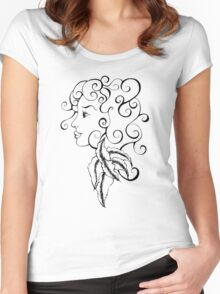 Gypsy Girl Women's Fitted Scoop T-Shirt