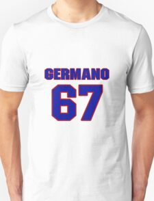 National baseball player Justin Germano jersey 67 T-Shirt