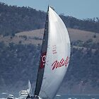 Wild Oats XI winning the 2104 Sydney to Hobart by Odille Esmonde-Morgan