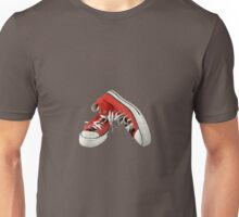 Red Gym Boots Unisex T-Shirt