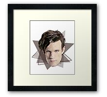 Eleventh triangle Doctor Framed Print